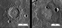 Thickness of Lavas on Mercury