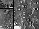 Identifying Lava Flow Fronts on Mercury