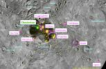 Chesterton Joins Named North Polar Craters