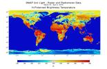 With its antenna now spinning at full speed, NASA's new Soil Moisture Active Passive (SMAP) observatory has successfully re-tested its science instruments and generated its first global maps, a key step to beginning routine science operations in 2015.