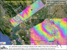 NASA's UAVSAR studies ground deformation after a magnitude 6.0 South Napa earthquake on August 24, 2014.