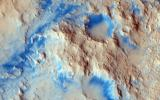 There are some interesting erosional signs in this observation from NASA's Mars Reconnaissance Orbiter, which will make for a good comparison with other intracrater fans and fluvial sedimentary landforms.