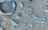 Oxia Planum is an ancient (Noachian epoch) terrain situated to the east of Chryse Planitia at about 18 degrees north. This image from NASA's Mars Reconnaissance Orbiter is of a proposed ExoMars Landing Site.
