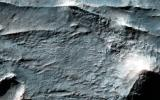 The Eridania Basin is thought to have once contained a large sea. This image from NASA's Mars Reconnaissance Orbiter spacecraft shows the Gorgonum Basin, which lies along the eastern edge of Eridania.