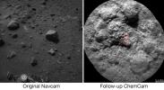 NASA's Curiosity Mars rover autonomously selects some of the targets for the laser and telescopic camera of the rover's Chemistry and Camera (ChemCam) instrument.