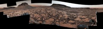 This 360-degree panorama was acquired NASA's Curiosity Mars rover while the rover was in an area called 'Murray Buttes' on lower Mount Sharp, one of the most scenic landscapes yet visited by any Mars rover.