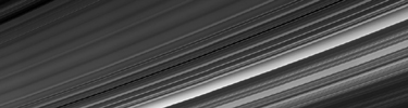NASA's Cassini obtained this panoramic view of Saturn's rings on Sept. 9, 2017, just minutes after it passed through the ring plane. The Cassini spacecraft ended its mission on Sept. 15, 2017.