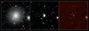 NASA's Spitzer Space Telescope has provisionally detected the faint afterglow of the explosive merger of two neutron stars in the galaxy NGC 4993.
