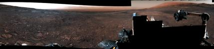 This panorama from the Mast Camera (Mastcam) on NASA's Curiosity Mars rover was taken on Dec. 19, 2018 (Sol 2265).