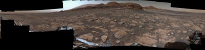 NASA's Curiosity Mars rover used its Mastcam instrument to take the 126 individual images that make up this 360-degree panorama on March 3, 2021, the 3,048th Martian day, or sol, of the mission.